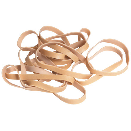 "1/4 x 3 <span class='fraction'>1/2</span>"" Rubber Bands"
