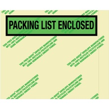 "Environmental ""Packing List Enclosed"" Envelopes"