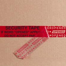 "2 x 9"" Red Tape Logic<span class='rtm'>®</span> Secure Tape Strips"
