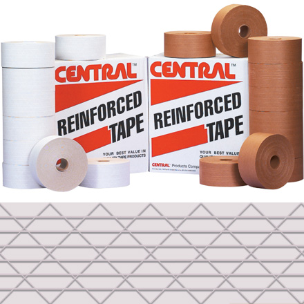 "3"" x 450' White Central<span class='rtm'>®</span> 250 Reinforced Tape"